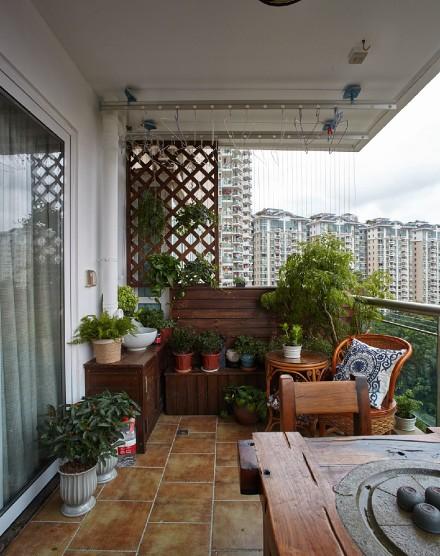 三居美式~去繁为简的美式温馨家阳台