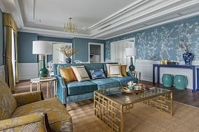 新中式风格,这样的设计看一眼就心动客厅1图中式现代设计图片赏析