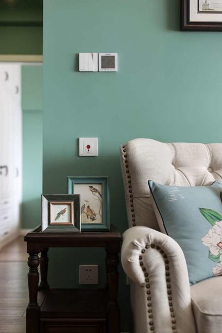85平米两居室惊艳简美风归夷之美客厅2图