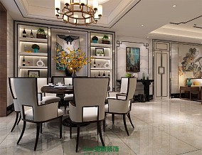 140m²新中式家装案例,用细节突出品质10514715