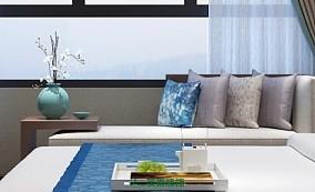 140m²新中式家装案例,用细节突出品质10514722