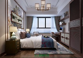 140m²新中式家装案例,用细节突出品质10514716
