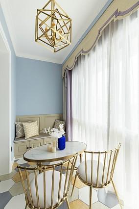 102m²简欧,小清新壁色营造甜美空间阳台欧式豪华设计图片赏析