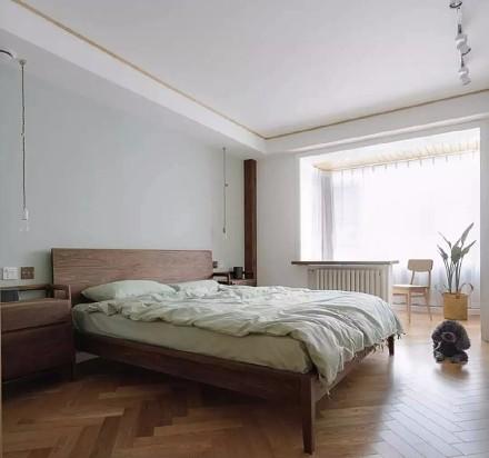 中式日式风格的碰撞结合卧室