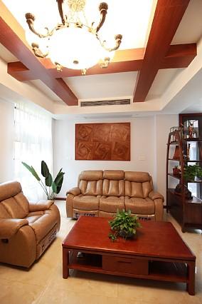 180m²中式别墅毕业照,颜值逆天客厅2图中式现代设计图片赏析