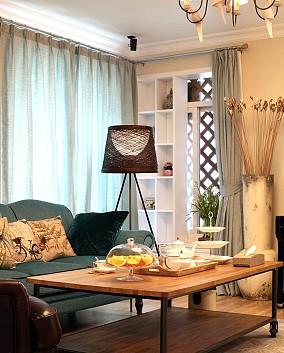 72²美式风格小格局大设计客厅2图美式田园设计图片赏析
