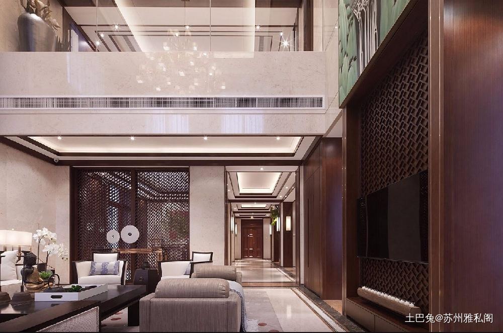 新中式谁家的房子这么好看!功能区中式现代功能区设计图片赏析