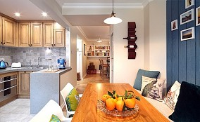 72²美式风格小格局大设计厨房美式田园设计图片赏析