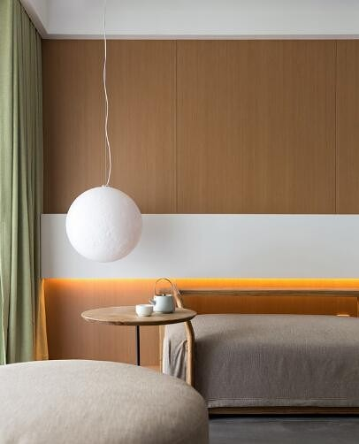 日式风格,家是梦想的远方客厅
