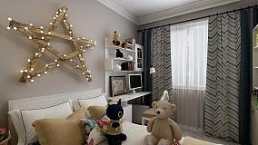 110m夫妻婚房三室两厅简约风格装修10560988
