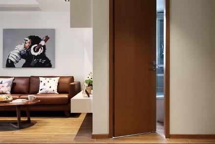名佳花园日式风格把生活过到极简客厅