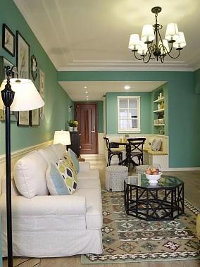 92㎡老屋爆改出3室2厅,邻居都羡慕玄关美式经典设计图片赏析