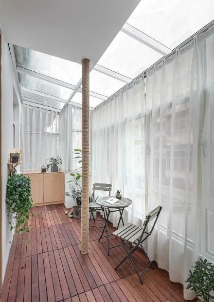 日式温馨美家,见素抱朴阳台