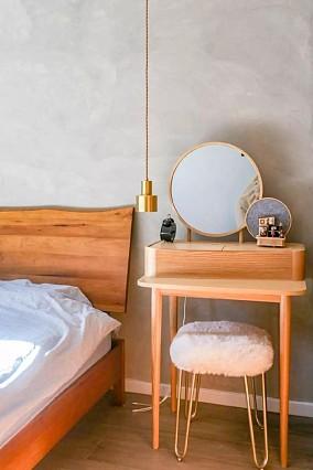 56㎡,室内开个窗让小家看起来大了一倍!卧室中式现代设计图片赏析