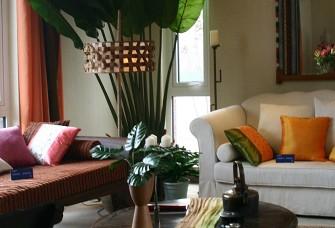 锦绣小区90㎡两居室东南亚风格