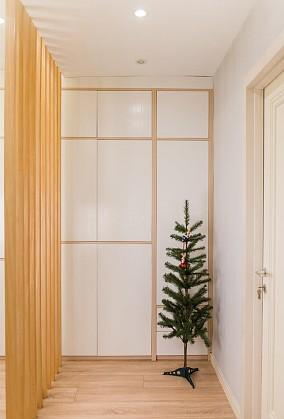 60平两居室北欧风时光静好功能区北欧极简设计图片赏析