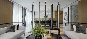 150m²中式复式,客厅简直惊艳一个家10610385