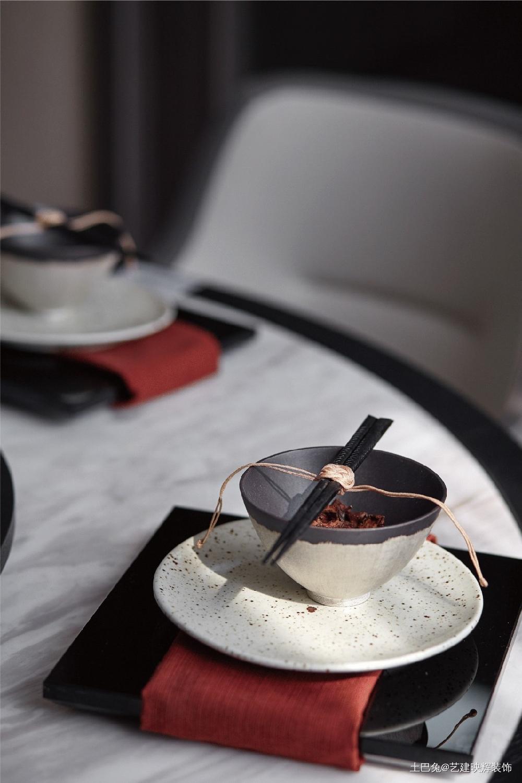 中式小二层家是梦想的远方厨房中式现代餐厅设计图片赏析