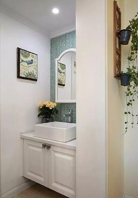 新房,次卧蓝灰色背景墙,简单却好有格调卫生间欧式豪华设计图片赏析