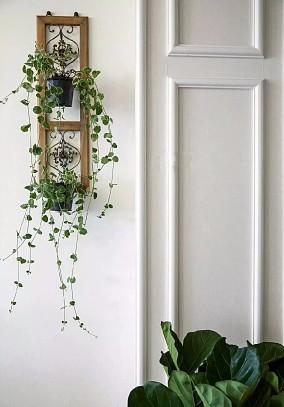 新房,次卧蓝灰色背景墙,简单却好有格调玄关欧式豪华设计图片赏析