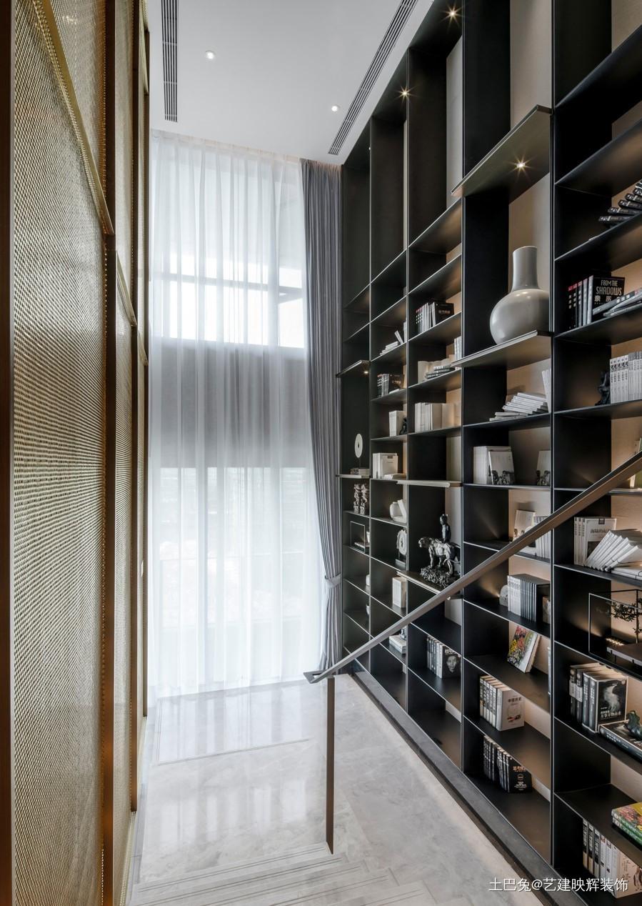 150m²中式复式客厅简直惊艳一个家功能区中式现代功能区设计图片赏析