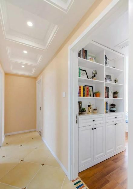 125㎡美式风格,温馨舒适的理想家居空间功能区