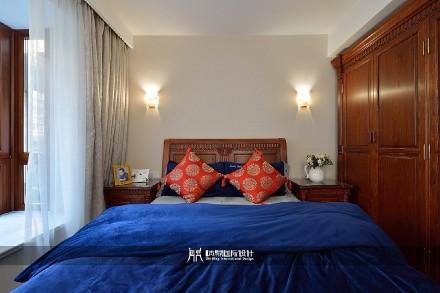 典雅而又大气的新中式卧室