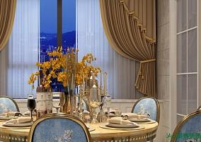 400m²欧式别墅,诠释极致高雅厨房欧式豪华设计图片赏析