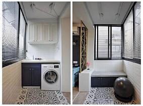 超温情舒适的北欧小居室阳台北欧极简设计图片赏析