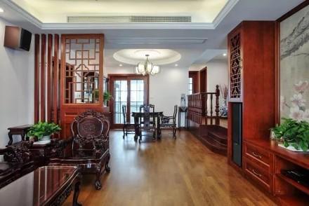 100㎡翻新房摇身一变典雅新中式厨房
