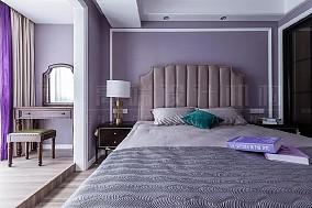 89㎡的三居小清新美式,一起等风来卧室美式经典设计图片赏析