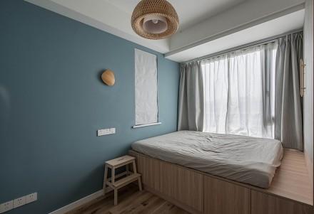 89㎡三居室·日式美宅收纳妙卧室