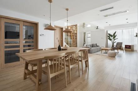日式极简,属于断离舍主义者的新家厨房