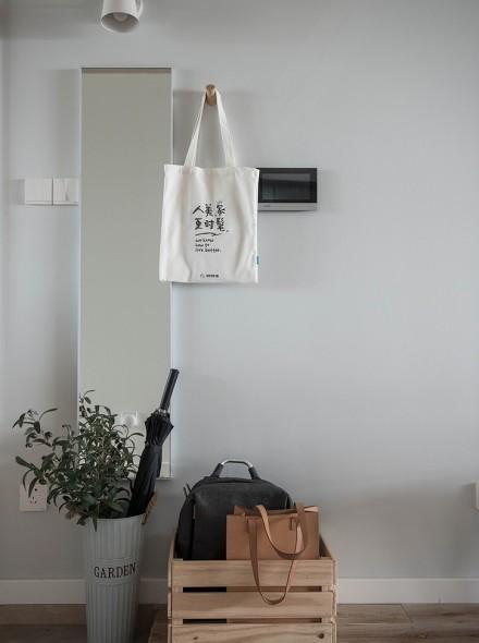 89㎡三居室·日式美宅收纳妙客厅