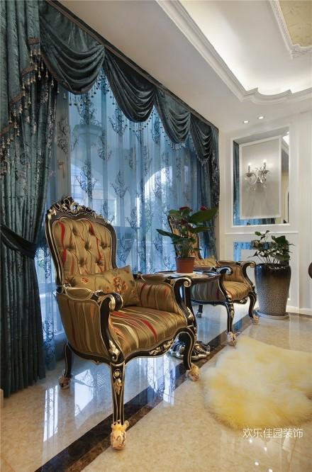 传统欧式古典,融入了现代的生活元素阳台