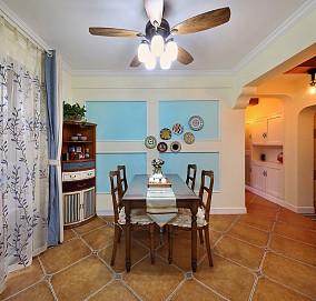 美式田园风格三室二厅180平厨房美式田园设计图片赏析