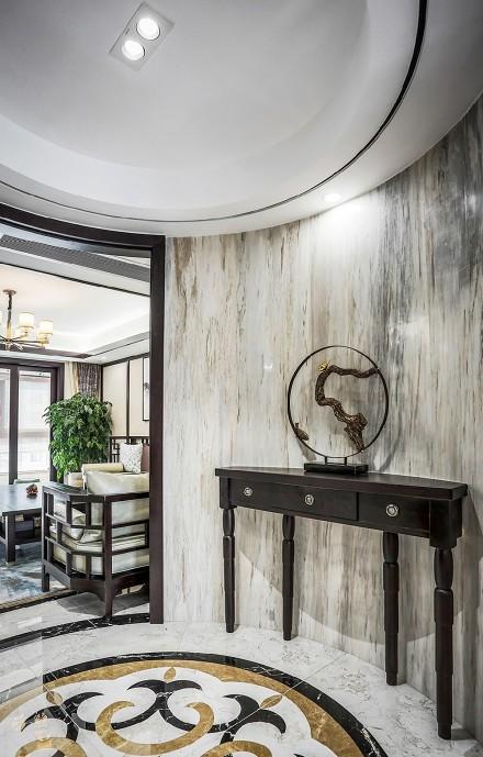 新古典风格三室二厅158平功能区