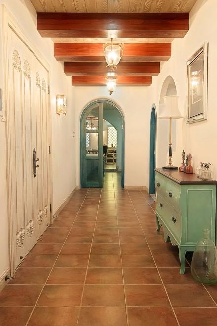 268㎡的地中海风格,家是梦想的远方功能区1图