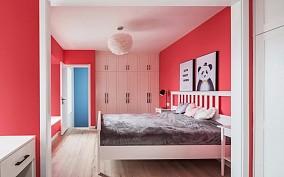 120m²北欧风,每一处都是视觉享受卧室北欧极简设计图片赏析
