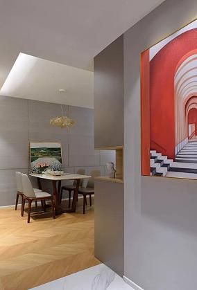 110㎡现代风格,每一处都是视觉享受厨房现代简约设计图片赏析