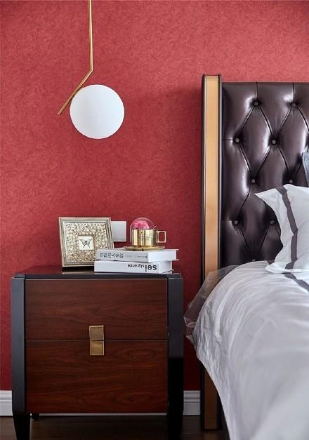北欧风格三室二厅158平卧室