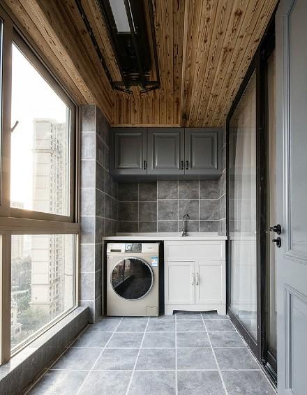 简欧风格两室二厅102平阳台