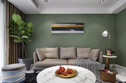 北欧风格的空间表达 123㎡3居室客厅