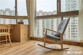 90㎡两室,演绎日式的素雅禅心!阳台日式设计图片赏析