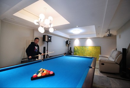 200m²新中式,奢华大气,品东方意境功能区