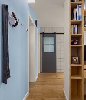 70平米小户型日式两居原木风功能区日式设计图片赏析