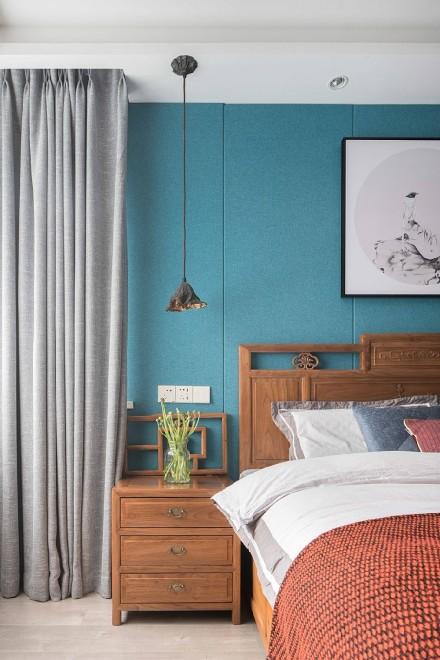 92平方的中式风格设计,意蕴悠长卧室