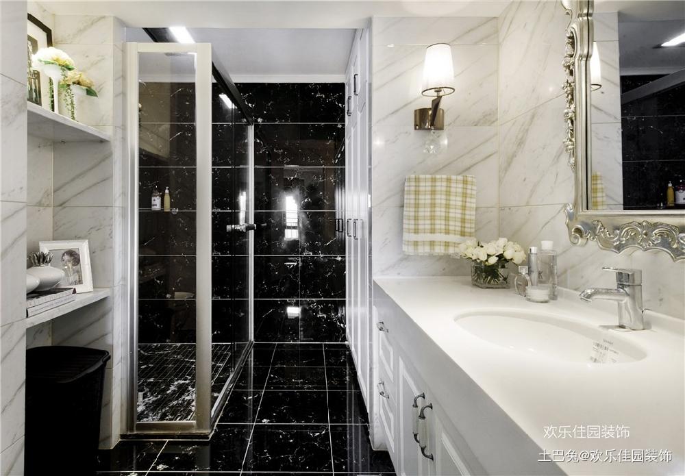 轻奢欧式小跃层有品质部浮夸卫生间欧式豪华卫生间设计图片赏析