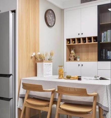 原木日式,简单、温馨、实用厨房