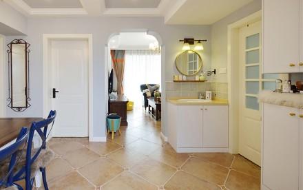 美式风格二室二厅100平功能区